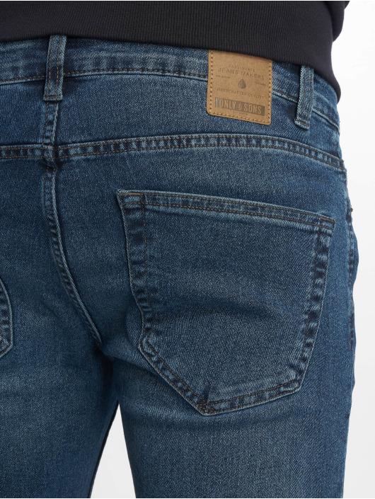 Only & Sons Skinny Jeans onsWarp Pk 2198 blau