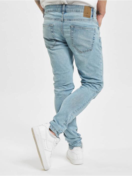 Only & Sons Skinny Jeans onsWarp Life Damage Pk 9574 blau
