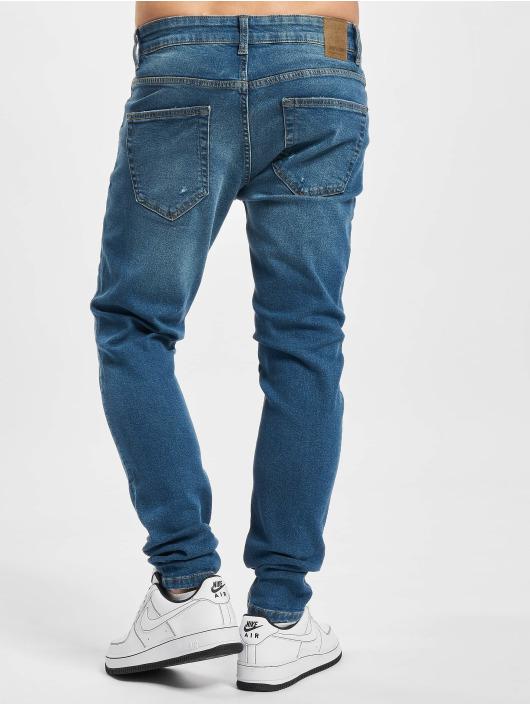 Only & Sons Skinny Jeans Onswarp Life Damage PK 9625 blau