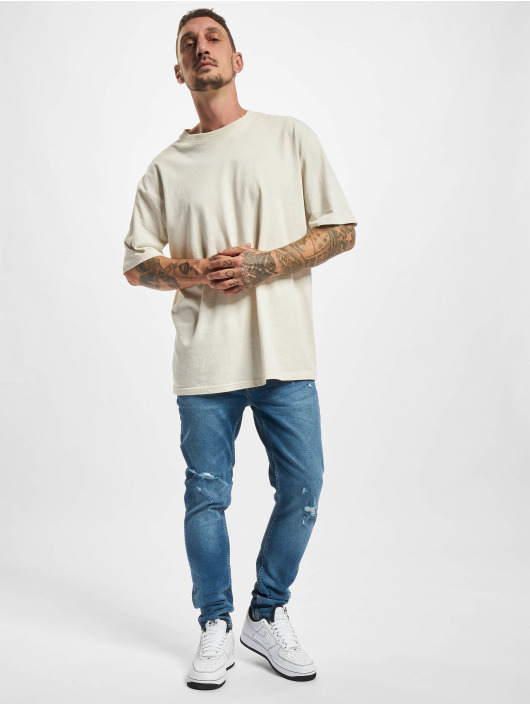 Only & Sons Skinny Jeans Onswarp Life Damage PK 9625 niebieski