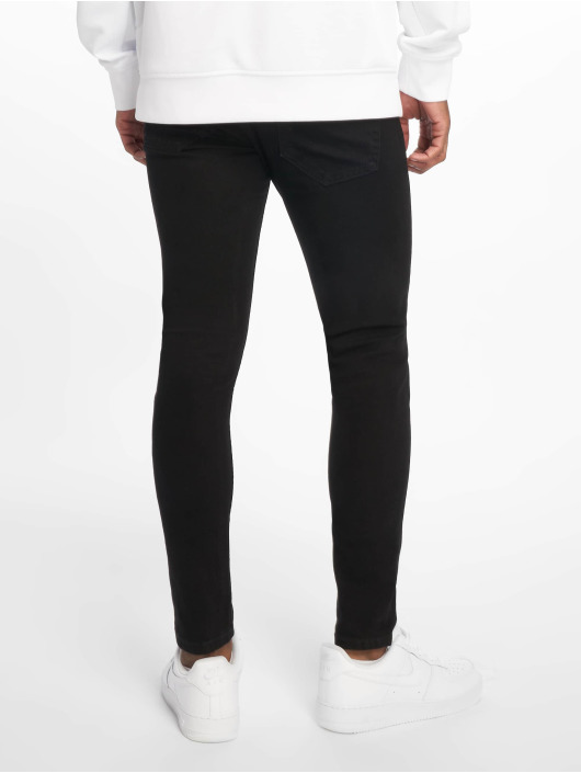 Only & Sons Skinny Jeans onsWarp Crop schwarz