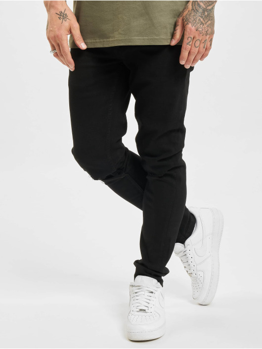 Only & Sons Skinny Jeans onsWarp Life Knee Cut Pk 9571 schwarz