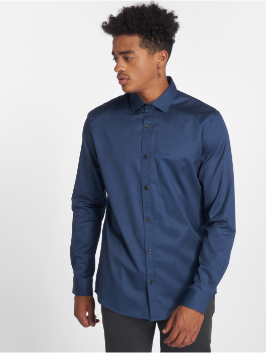 Only & Sons Skjorter onsAlves 2-Ply Easy Iron blå