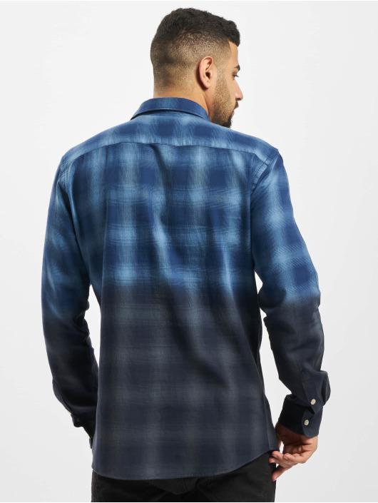 Only & Sons Skjorter onsAksel Real Indigo Dip Dye blå