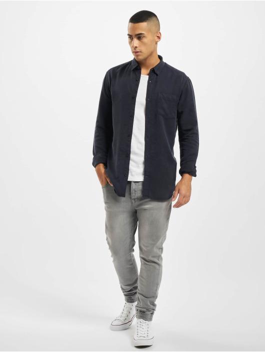 Only & Sons Skjorter onsAtlas Life Dyed Tencel blå