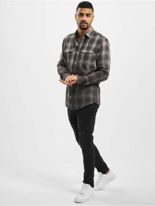 Only & Sons Skjorter onsAksel Real Indigo Dip Dye grå
