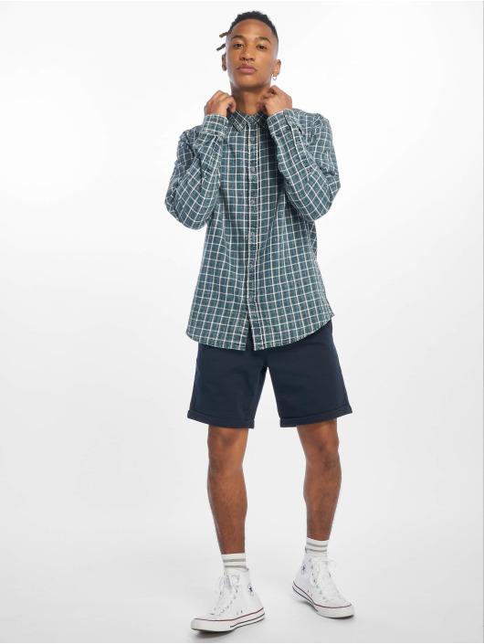 Only & Sons Skjorter onsStone Checked Indigo grøn