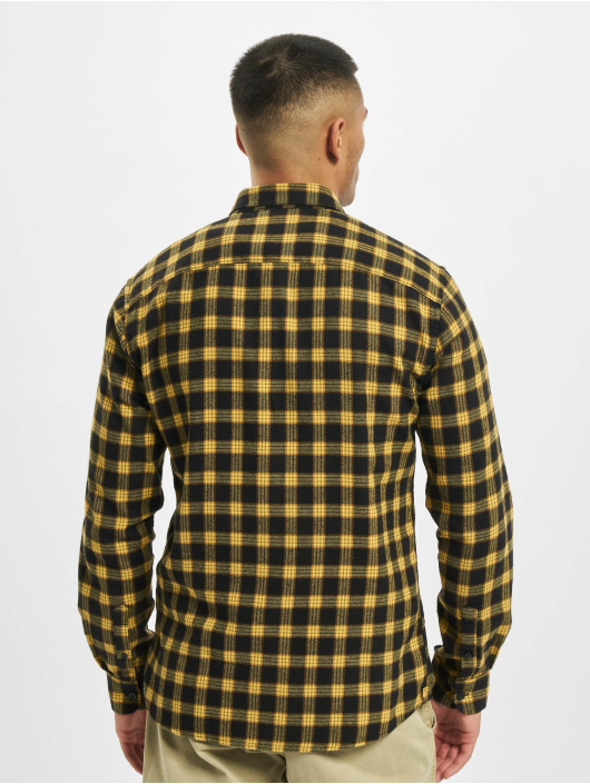 Only & Sons Skjorter onsEmil Flannel Check gul