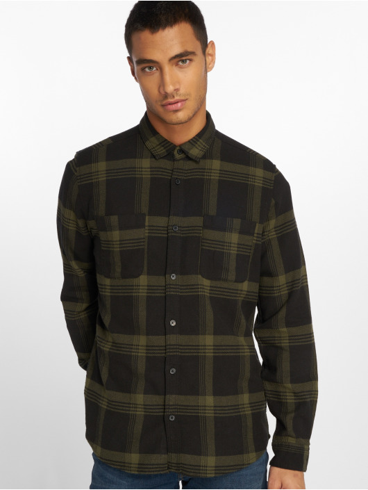 Only & Sons Skjorter Onswillem Checked oliven