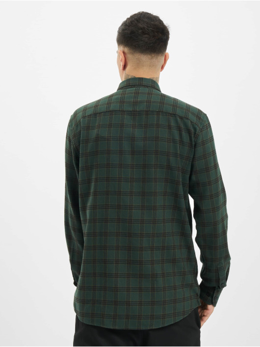 Only & Sons Skjorter onsEmil Flannel Check oliven