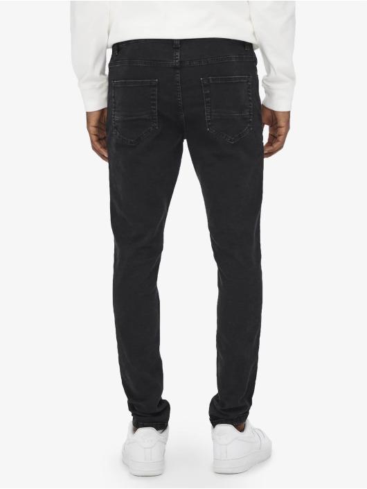Only & Sons Slim Fit Jeans Onsdraper čern