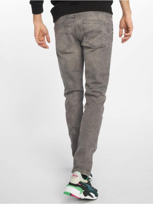 Only & Sons Slim Fit Jeans WF Loom PK 2817 EXP šedá