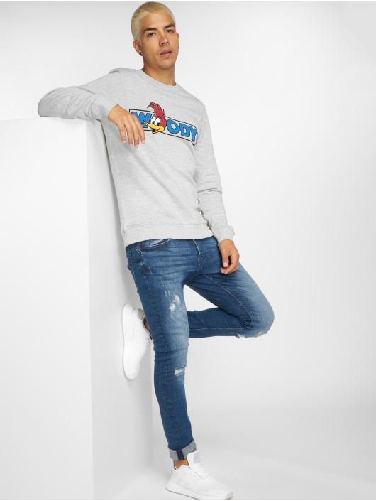 Only & Sons Slim Fit Jeans onsSpun Damage blå