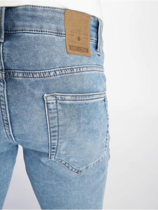 Only & Sons Slim Fit Jeans onsLoom Pk 2024 blau