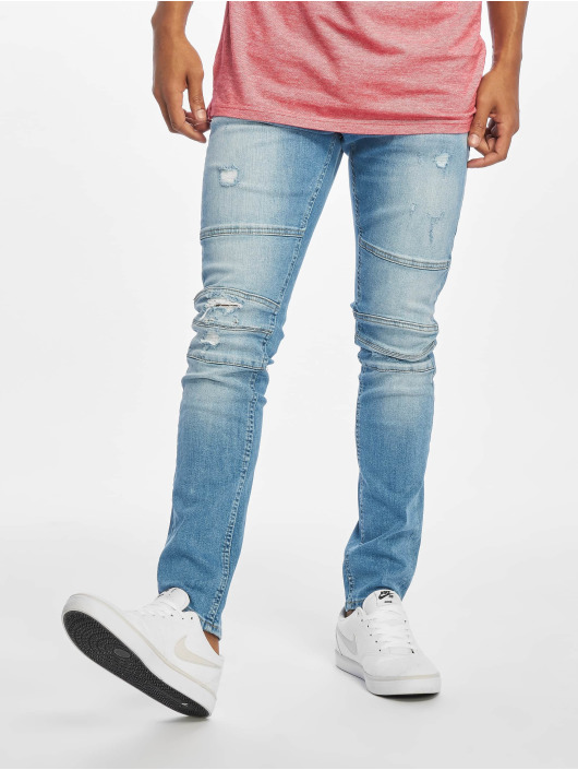 Only & Sons Slim Fit Jeans onsSpun Biker blau