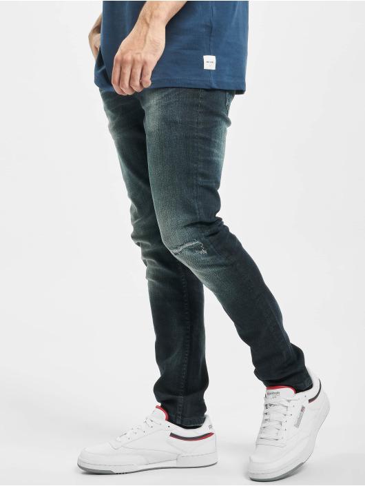 Only & Sons Slim Fit Jeans onsLoom Damage blau
