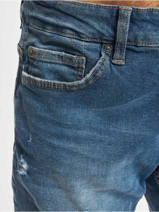 Only & Sons Slim Fit Jeans Onsloom Life Damag PK 9624 Slim Fit blau