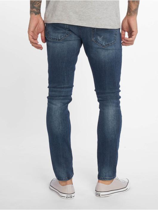 Only & Sons Slim Fit Jeans onsLoom Damage Blue blauw