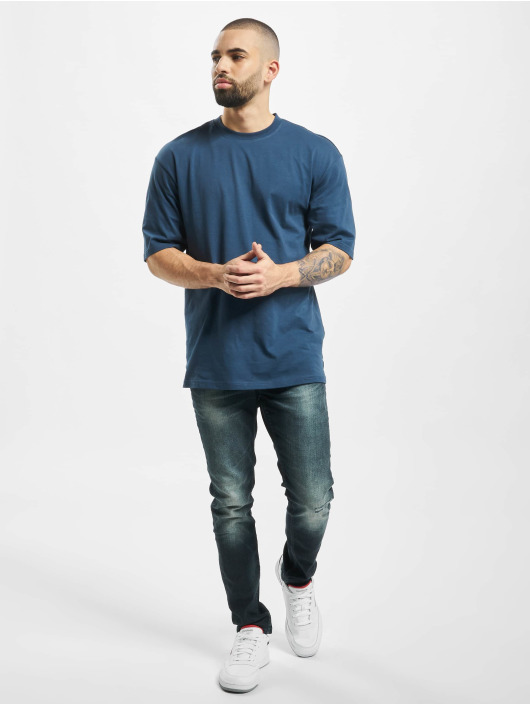 Only & Sons Slim Fit Jeans onsLoom Damage blauw