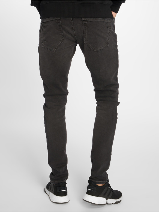 Only & Sons Slim Fit Jeans onsSpun Jog Damage Pk 0473 grå