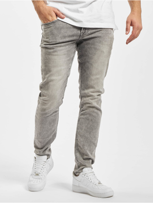 Only & Sons Slim Fit Jeans onsLoom Zip grau