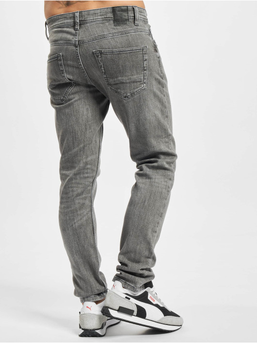 Only & Sons Slim Fit Jeans Onsloom Life Slim Fit grijs
