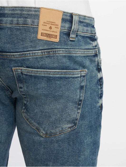 Only & Sons Slim Fit Jeans onsLoom 2126 modrá