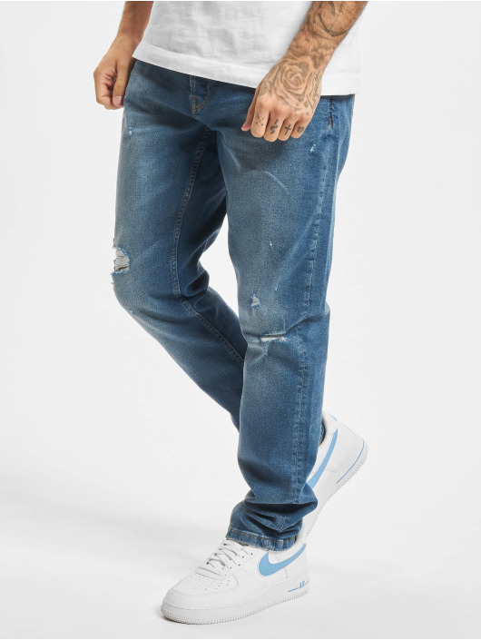 Only & Sons Slim Fit Jeans Onsloom Life Damag PK 9624 Slim Fit modrá