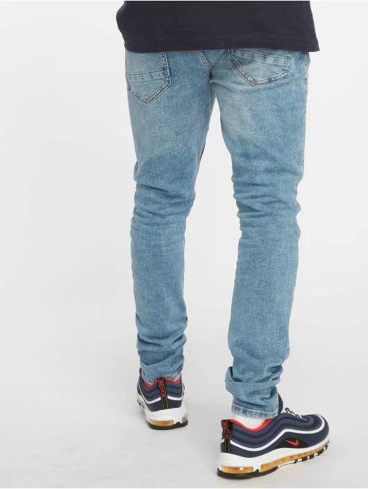 Only & Sons Slim Fit Jeans onsSpun Washed 2049 modrý