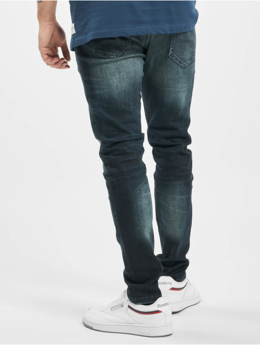 Only & Sons Slim Fit Jeans onsLoom Damage modrý