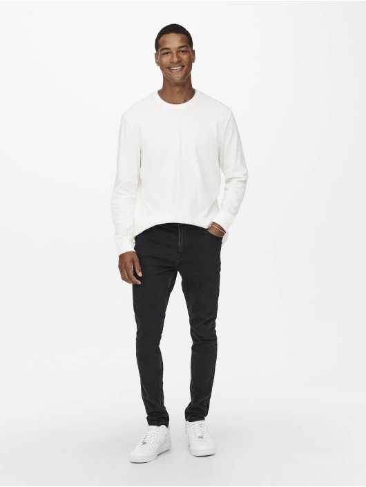 Only & Sons Slim Fit Jeans Onsdraper sort