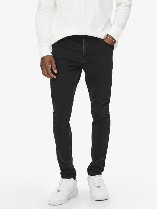 Only & Sons Slim Fit Jeans Onsdraper svart