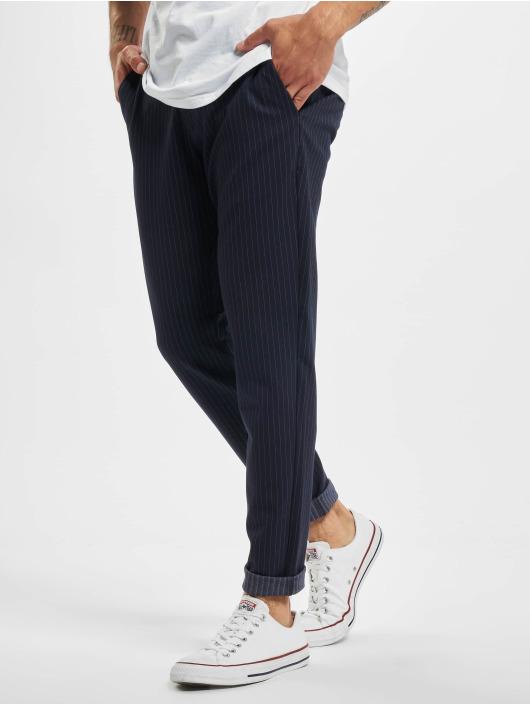 Only & Sons Spodnie wizytowe onsMark Stripe Noos niebieski