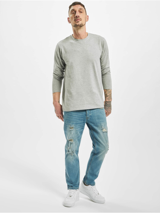 Only & Sons Straight Fit Jeans onsWeft Regular Crop L blå