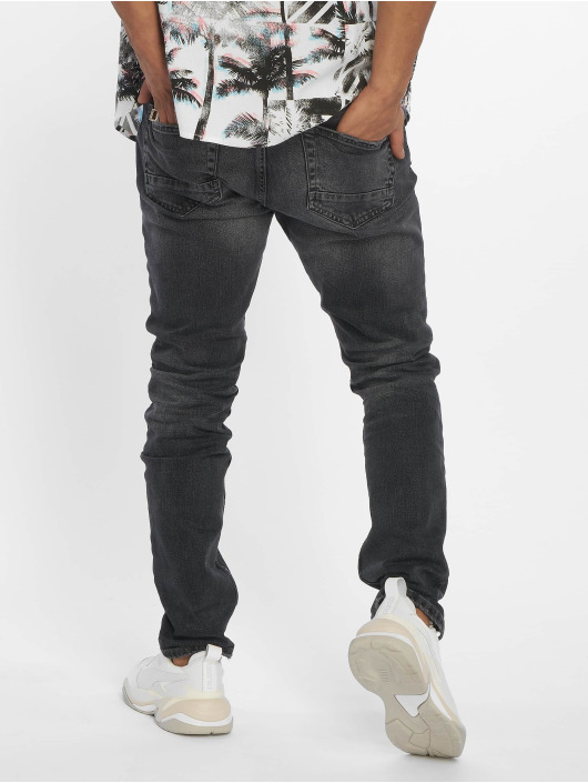 Only & Sons Straight Fit Jeans onsWeft Washed 2040 black