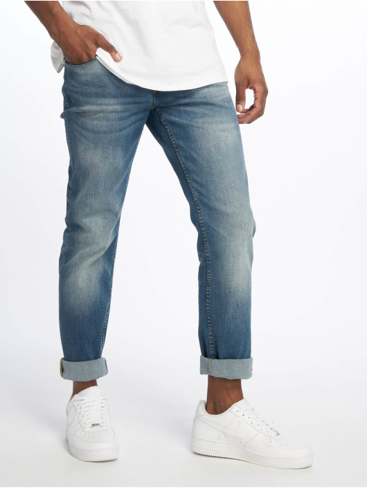 Only & Sons Straight Fit Jeans onsWeft Washed blau