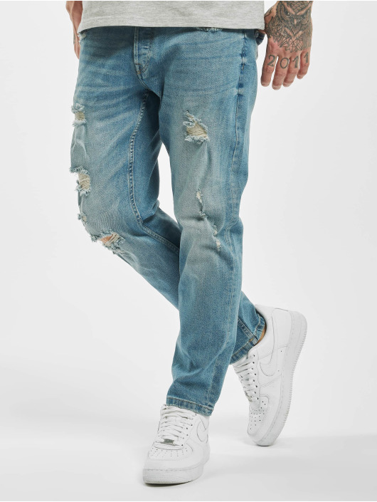Only & Sons Straight Fit Jeans onsWeft Regular Crop L blau
