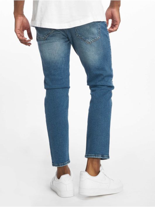 Only & Sons Straight Fit Jeans onsWeft Crop Washed blue