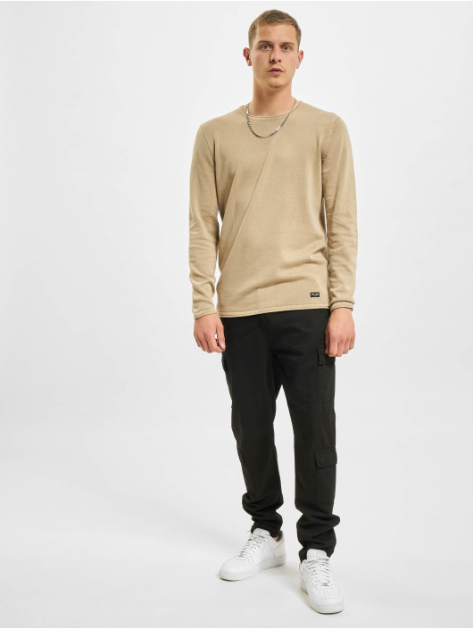 Only & Sons Sweat & Pull onsGarson Life 12 Wash Knit Noos beige