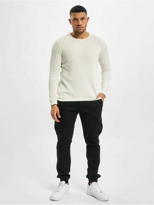 Only & Sons Sweat & Pull onsPanter 12 Struc Noos Knit blanc