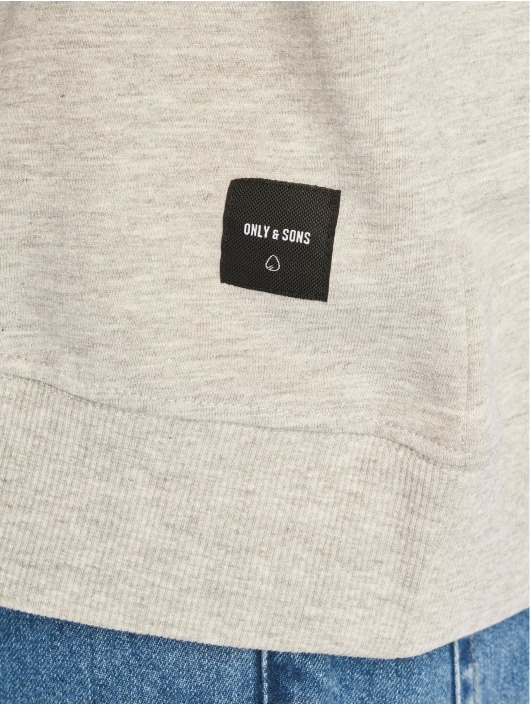 Only & Sons Sweat & Pull onsBasic Unbrushed gris