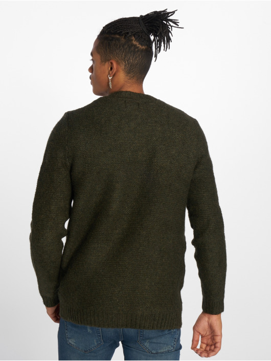 Only & Sons Sweat & Pull onsPhilip 3 Cable olive