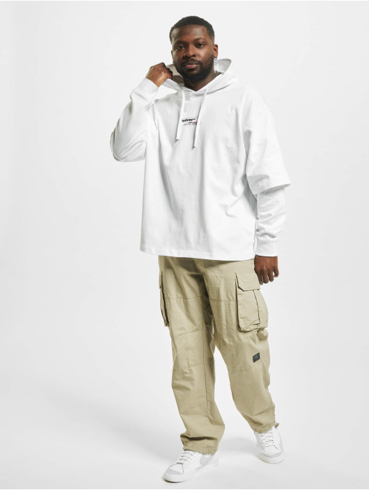 Only & Sons Sweat capuche onsKean Life Oversize blanc