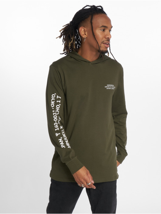 Only & Sons Sweat capuche WF Dean olive