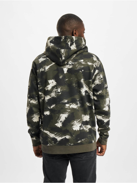 Only & Sons Sweat capuche Onsfisher Life Dropshld vert