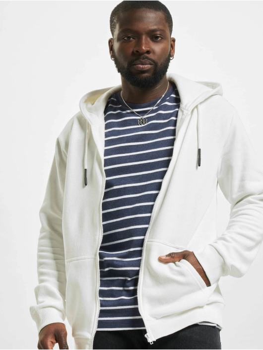 Only & Sons Sweat capuche zippé onsCeres Life blanc