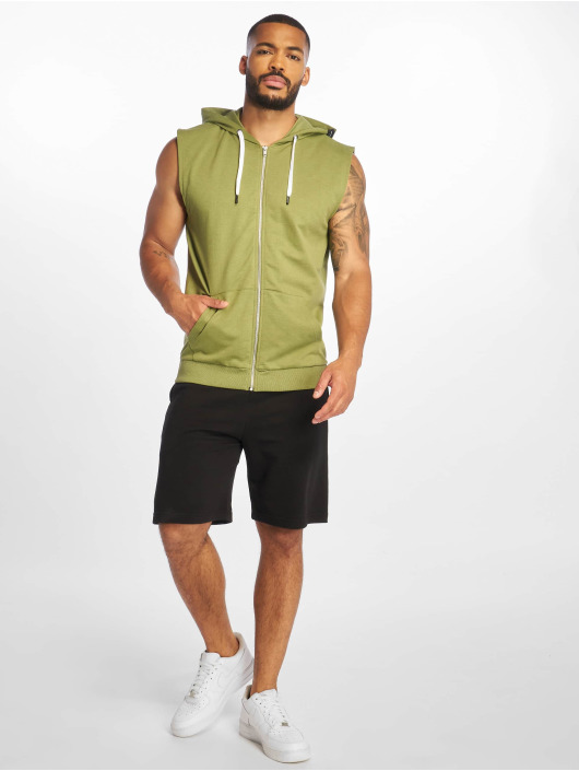 Only & Sons Sweat capuche zippé onsNiko olive
