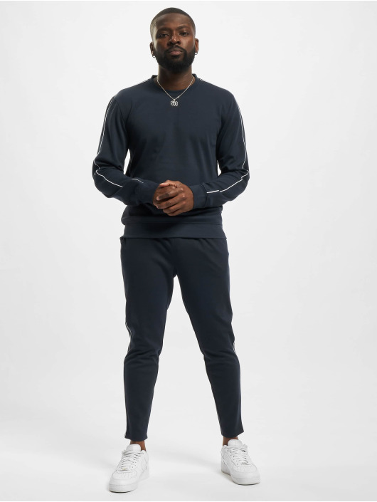 Only & Sons Sweat Pant Onsfreman Slim Cropped blue