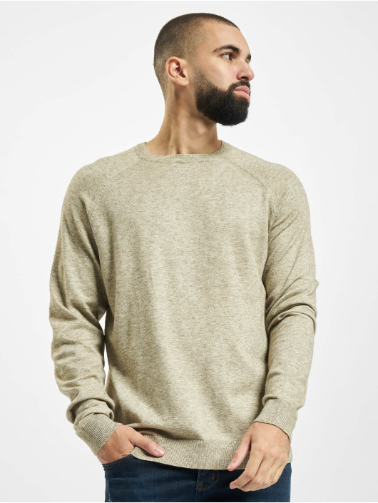 Only & Sons Swetry onsMikkel 12 Soft Raglan Noos bezowy