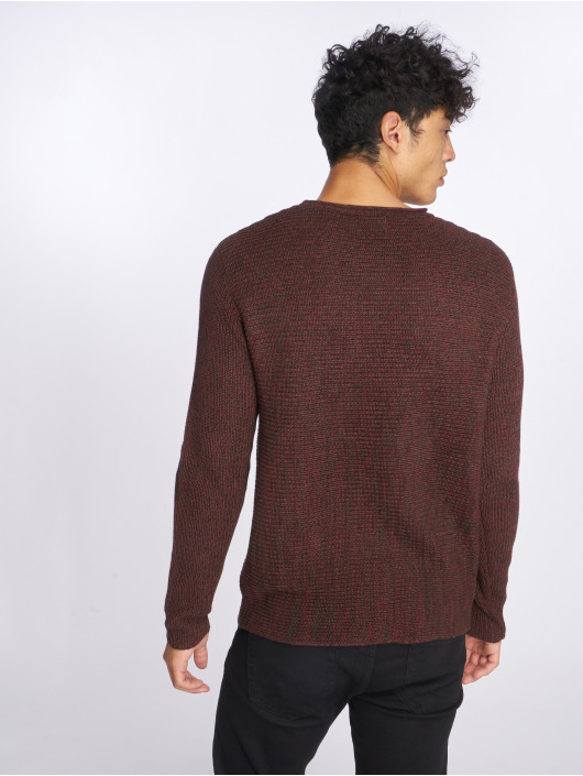 Only & Sons Swetry onsSato 5 Multi Clr Knit czerwony